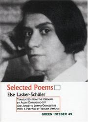 Cover of: Selected Poems (Green Integer: 104)