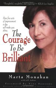 Cover of: The Courage to Be Brilliant