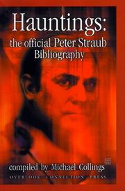 Cover of: Hauntings: The Official Peter Straub Bibliography (Biblio)