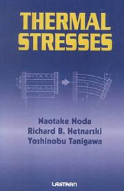 Cover of: Thermal Stresses