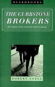 Cover of: Curbstone Brokers