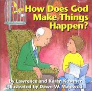 Cover of: How Does God Make Things Happen?
