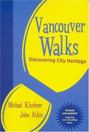 Cover of: Vancouver Walks