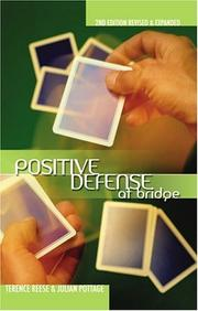 Cover of: Positive Defense at bridge (Positive Bridge Play)
