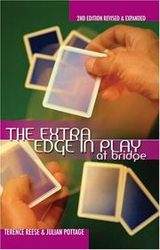 Cover of: The Extra Edge in Play At Bridge