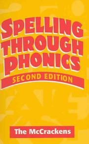 Cover of: Spelling Through Phonics