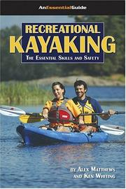 Cover of: Recreational Kayaking Book