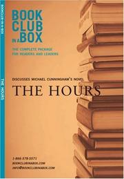 Cover of: Bookclub-In-A-Box Discusses the Novel the Hours by Michael Cunningham