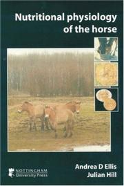 Cover of: Nutritional Physiology of the Horse