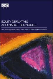 Cover of: Equity Derivatives and Market Risk Models