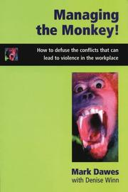 Cover of: Managing the Monkey