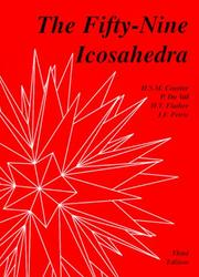 Cover of: The fifty-nine icosahedra