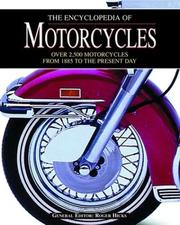 Cover of: The Encyclopedia of Motorcycles