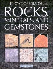 Cover of: Encyclopedia of Rocks, Minerals, and Gemstones