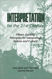 Cover of: Interpretation for the 21st Century