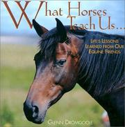 Cover of: What Horses Teach Us