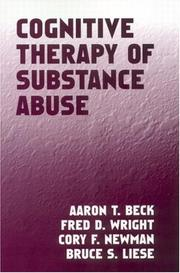 Cover of: Cognitive Therapy of Substance Abuse