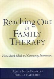 Cover of: Reaching Out in Family Therapy