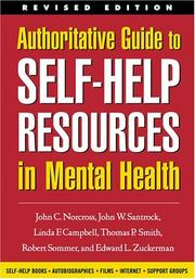 Cover of: Authoritative Guide to Self-Help Resources in Mental Health