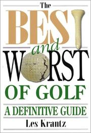 Cover of: The Best and Worst of Golf