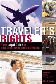 Cover of: Traveler's Rights