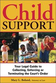 Cover of: Child Support