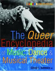 Cover of: The Queer Encyclopedia of Music, Dance, and Musical Theater (Glbtq Encyclopedia)