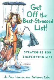 Cover of: Get Off the Best Stressed List: