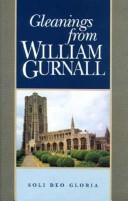 Cover of: Gleanings from William Gurnall (Puritan Writings)