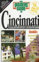 Cover of: The Insiders' Guide to Cincinnati