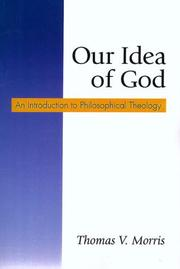 Cover of: Our Idea of God