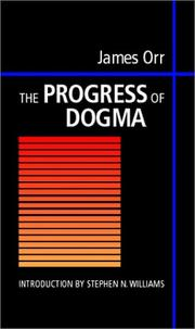 Cover of: The Progress of Dogma