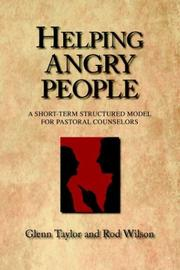 Cover of: Helping Angry People