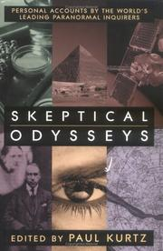 Cover of: Skeptical Odysseys: Personal Accounts by the World's Leading Paranormal Inquirers