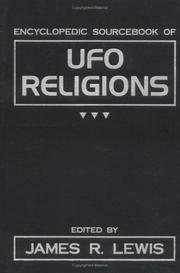Cover of: The Encyclopedic Sourcebook of UFO Religions