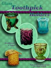 Cover of: Glass Toothpick Holders