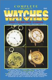 Cover of: Complete Price Guide to Watches 2002