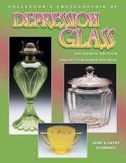Cover of: Collector's Encyclopedia of Depression Glass
