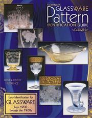 Cover of: Florence's Glassware Pattern Identification Guide (Florence's Glassware Pattern Identification)
