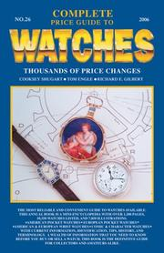 Cover of: Complete Price Guide to Watches 2006 (Complete Price Guide to Watches)