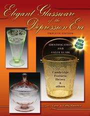 Cover of: Elegant Glassware of the Depression Era