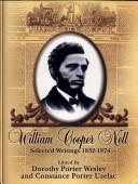 Cover of: William Cooper Nell