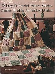 Cover of: 63 Easy-to-Crochet Pattern Stitches (Leisure Arts #555)