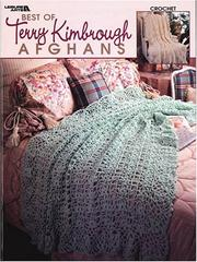 Cover of: Best of Terry Kimbrough Afghans, Crochet (Leisure Arts #3209)