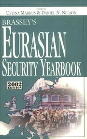 Cover of: Brassey's Eurasian Security Yearbook, 2002 Edition