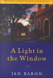 Cover of: A Light in the Window (The Mitford Years #2)