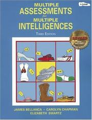 Cover of: Multiple Assessments for Multiple Intelligences, 3rd Edition