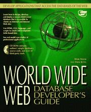 Cover of: World Wide Web Database Developer's Guide
