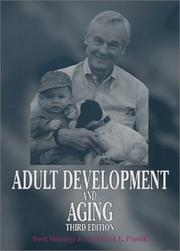Cover of: Adult Development and Aging