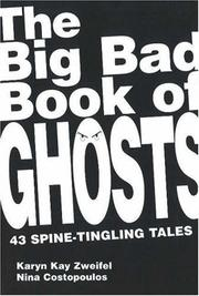 Cover of: The Big Bad Book of Ghosts